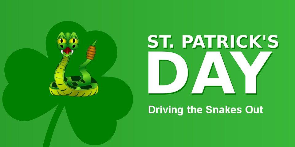St Patrick's Day Snakes